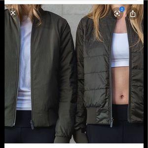 Lululemon Non Stop Reversible Bomber Jacket